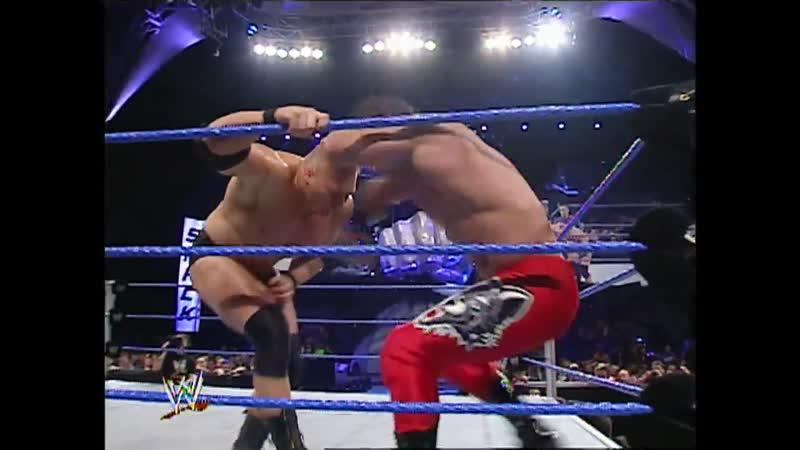 WWE Smack Down 02 12 2003 Match for the the WWE Championship Brock Lesnar vs Chris Benoit 545TV