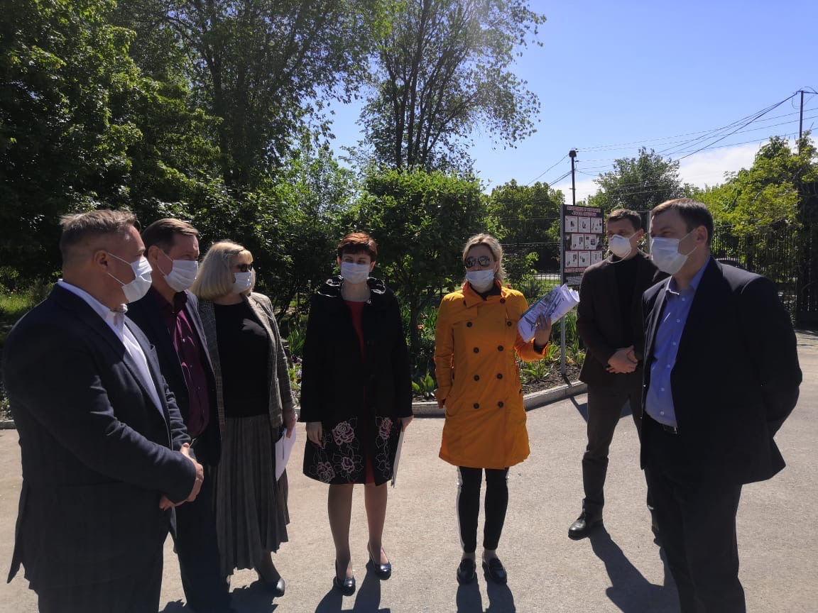 Глава Администрации Андрей Лисицкий провёл выездное совещание на территории Парка 300-летия Таганрога