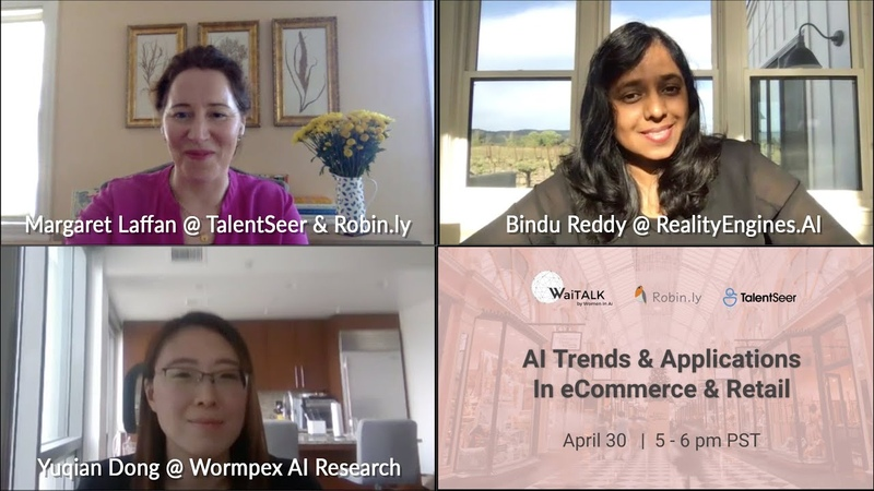 AI Trends Applications in eCommerce Retail Women In AI x TalentSeer Virtual Meetup