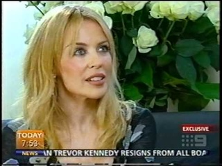 Kylie Minogue Interview (Today Show Richard Wilkins Body Language Launch 2003)