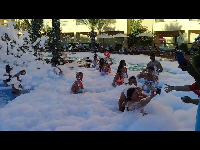 Hôtel Sentido Rosa Beach Thalasso Spa , Monastir tunisie mousse froam party
