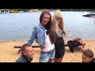 Групповуха с русскими молодыми девочками