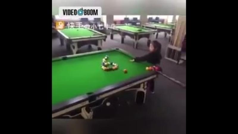 Мастер клаас игра на бильярде