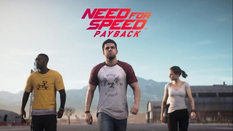 Need for Speed Payback часть 1 Знакомимся и смотрим