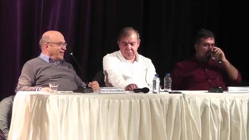 Felsefe ve Biz 11 Ocak 2018 İzmir - Prof. Dr. Ahmet Arslan ile Dücane Cündioğlu