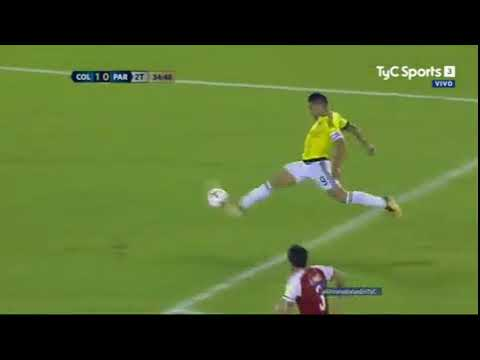 Colombia 1-2 Paraguay Eliminatorias Rusia 2018-Tyc sports