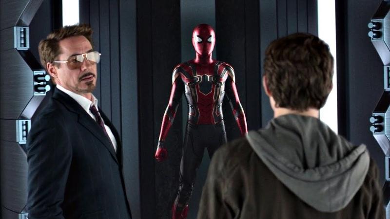 Тони Старк предлагает Питеру присоединиться к Мстителям. Человек-паук: Возвращение домой. 2017
