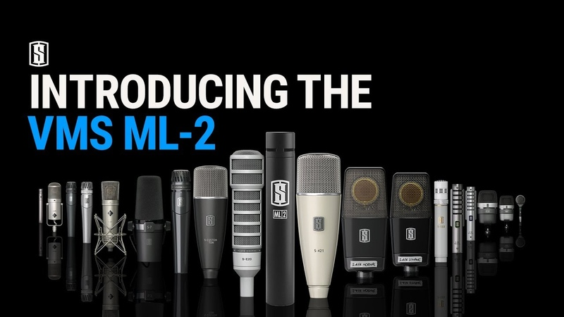 ANNOUNCING: THE VMS ML-2 MODELING MIC NOW AVAILABLE!