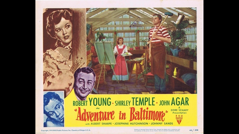 Aventura en Baltimore (Adventure in Baltimore) (1949) (Español)