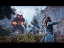 Horizon Zero Dawn Прохождение Стрим DLC Frozen Wilds Барьер 32
