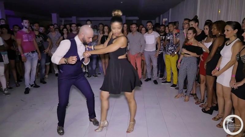 Великолепный Жорж Атака и Восхитительная Таня Ла Алемана танцуют под..... Ламбаду!! Улёт полный!!