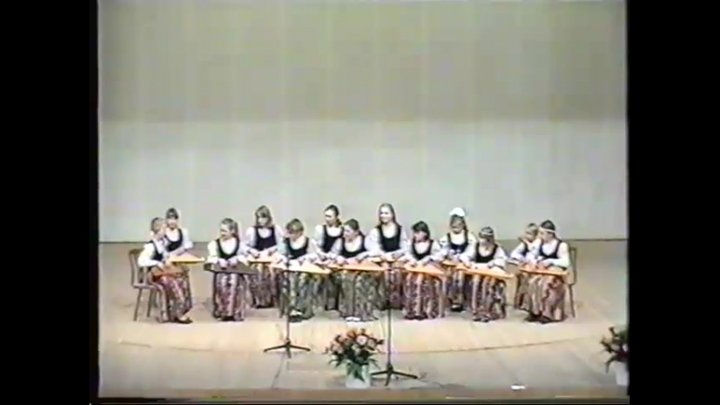 VIII ПАРАД КАНТЕЛИСТОВ 18.04.1998 г. ЦНК