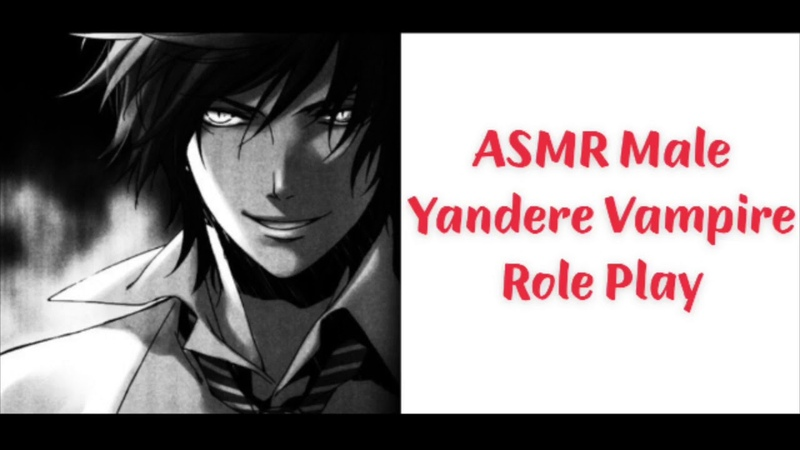 ASMR Male Yandere Vampire RP (Whispering) (Kidnapping) (Gender Neutral)