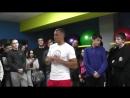 Мастер-класс от Сергея Ковалёва. Фитнес -Клуб КОСМОС