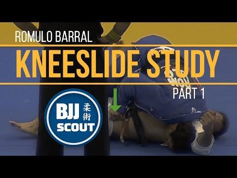 BJJ Scout Romulo Barral Kneeslide Study Pt.1 (w Tomoyuki Hashimoto)