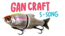 Gan Craft Jointed Claw S Song 115 F Fishing Lures Review Обзор воблера