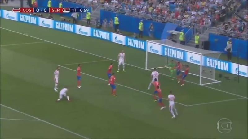 COSTA RICA 0 x 1 SÉRVIA Melhores Momentos (FOX SPORT HD) Copa do Mundo 1706