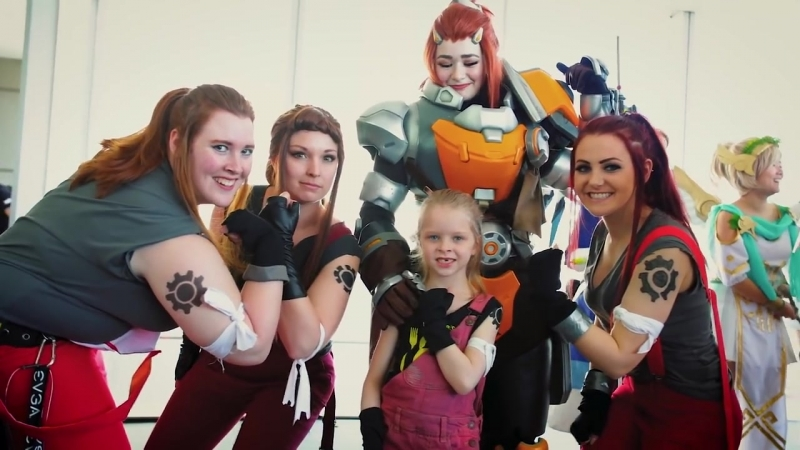 BRIGITTE comes to LIFE at the OVERWATCH Payload Tour.overWC