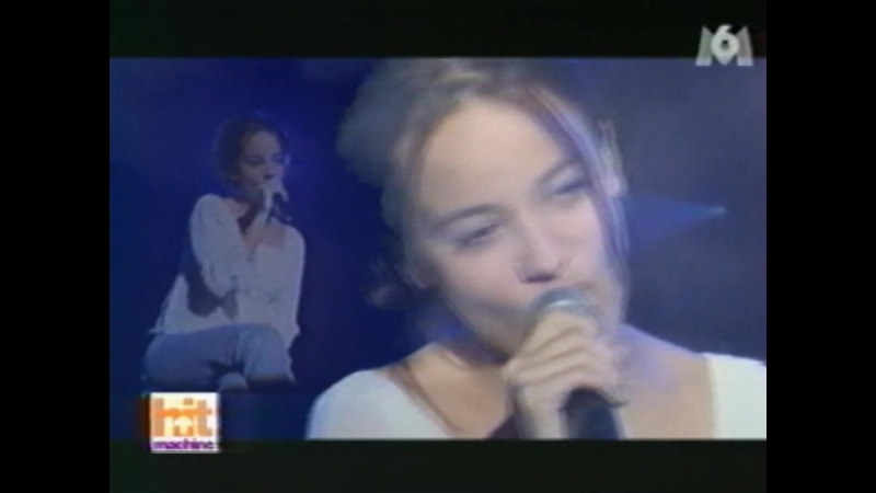 Alizee - Parler Tout Bas (2001-04-21. Hit Machine M6)