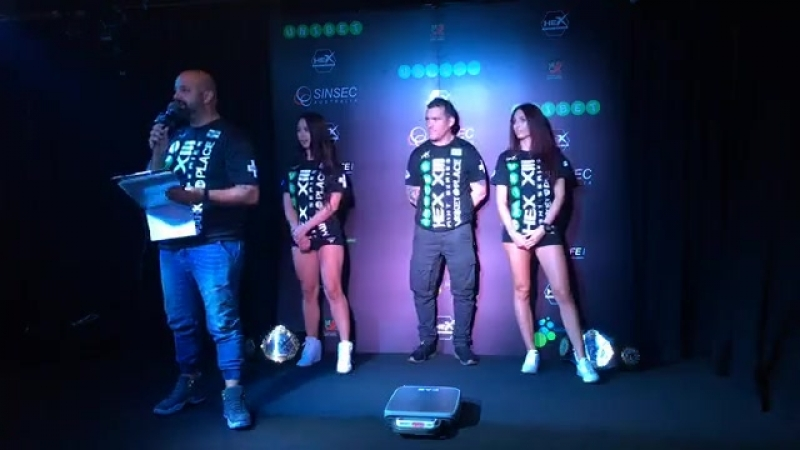 Hex Fight Series 13 Live Weigh-Ins from... - Hex Fight Series