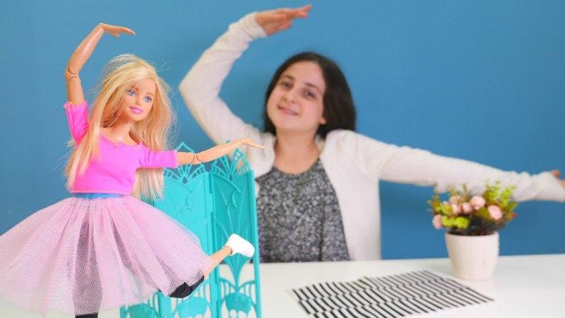 Oyuncak Barbie baleye başladı! El yapımı tütü yapıyoruz!