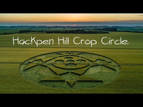 Crop Circle Hackpen Hill Slide Show June 2018
