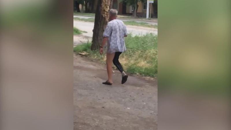 Мужчина с пенисом на перевес в Таганроге. 18