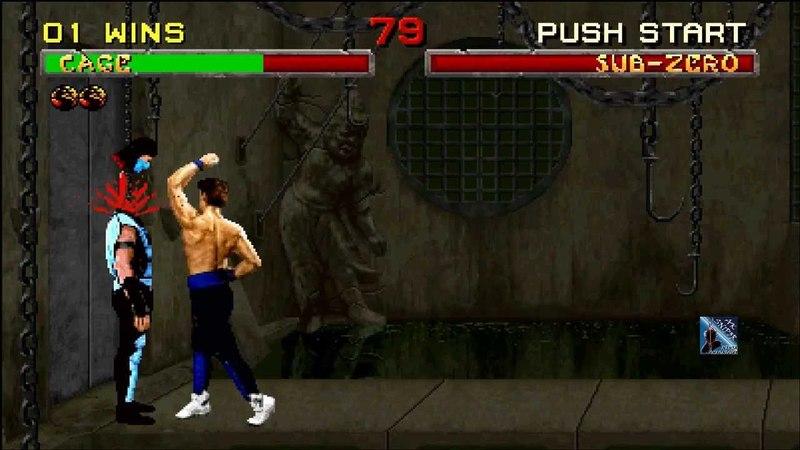 Mortal Kombat 2: Johnny Cage's Triple Decap Uppercut!