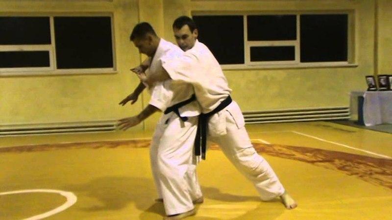 Мотоха Йошин рю Дзю Дзюцу - первые 10ть техник. (Motoha Yoshin ryu Jiu Jiutsu)