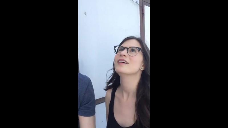 Amelia instagram live video