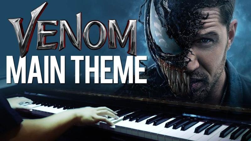 Venom Main Theme Venom OST Piano Cover SHEETS MIDI