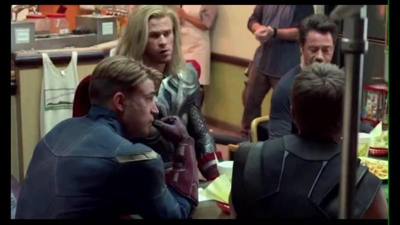 Avengers 2012 credit scene