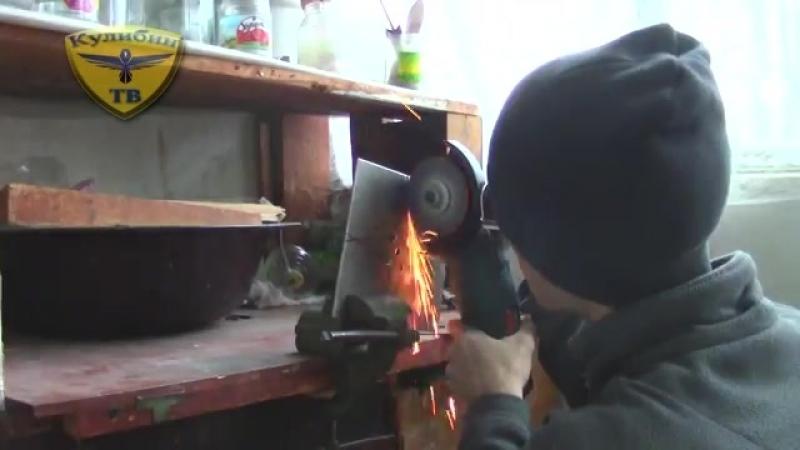 КАК СДЕЛАТЬ СЮРИКЕН (метательная звезда) - how to make a shuriken.mp4