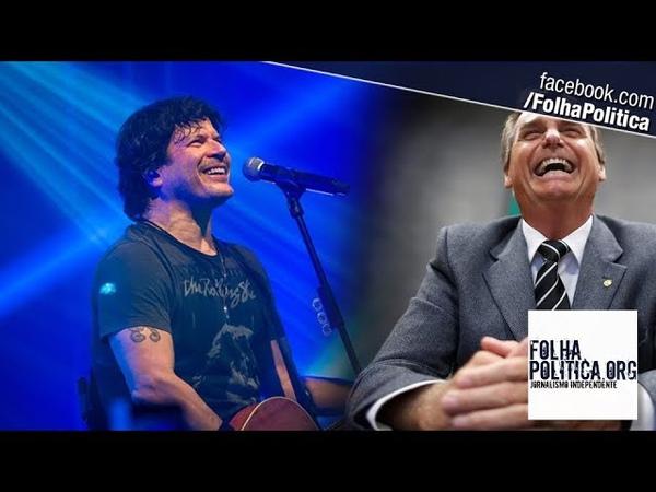 Cantor Paulo Ricardo pergunta em quem os fãs irão votar para presidente e o 'resultado' é...