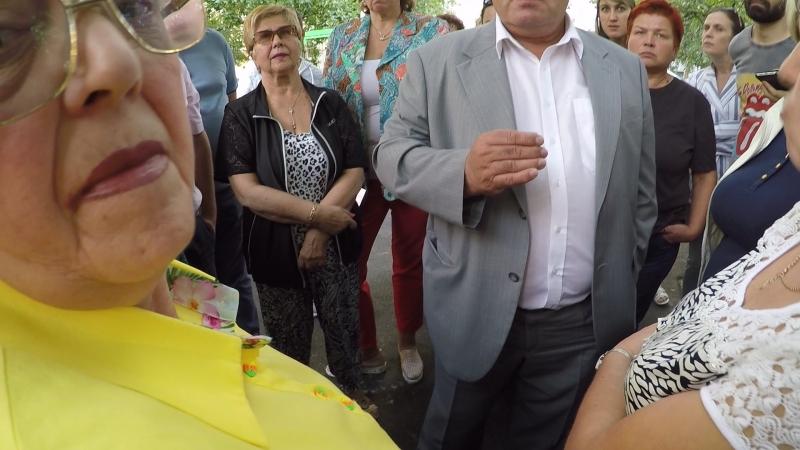 Встреча с главой Управы Люблино Бирюковым 17.08.18.