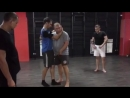 Тайский бокс - удары в клинче