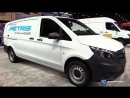2018 Mercedes Metris Cargo Van Exterior and Interior Walkaround 2018 Chicago Auto Show