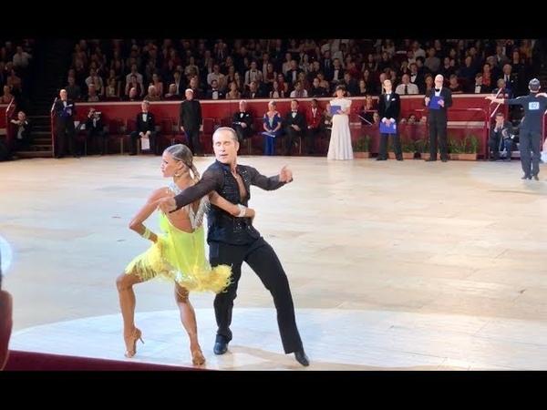 Riccardo Cocchi - Yulia Zagoruychenko   International Championships 2018   final   samba