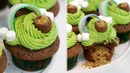 St. Patrick's Day Cupcakes | Chocolate and Matcha Rainbow Cupcakes | RECIPE