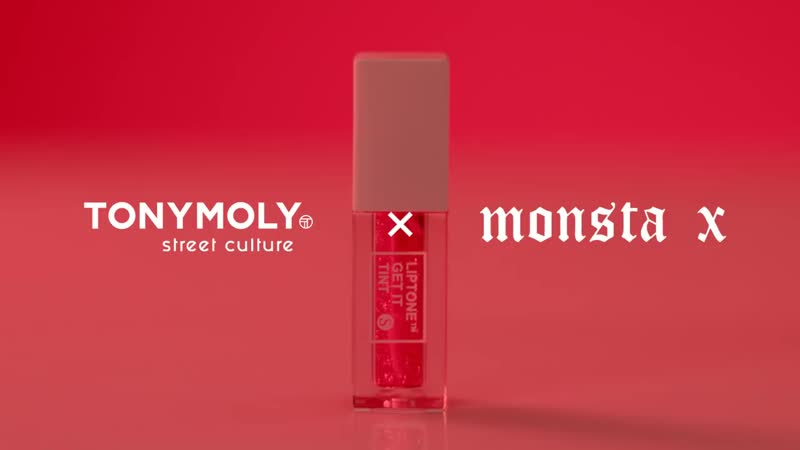 VK 181001 MONSTA X 'Liptone Get it Tint S Line' @ TONY MOLY