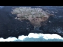 UPDATE Hawaii Kaialii Lava Black hawk Flyover of the recent lava entry between Pohoiki and Kapoho