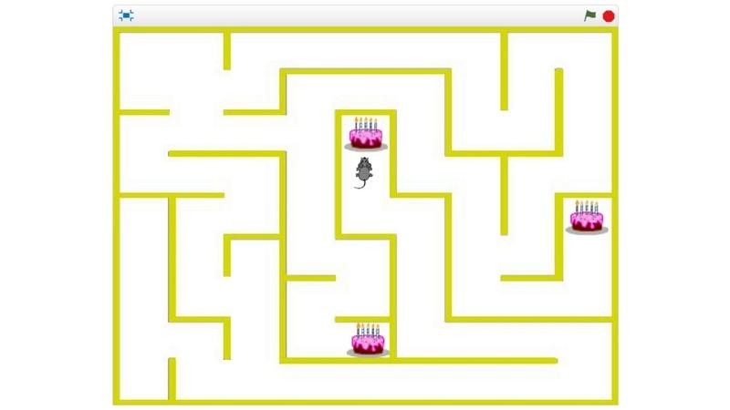Создание игры Мышь в лабиринте на Scratch 2 0 и 3 0