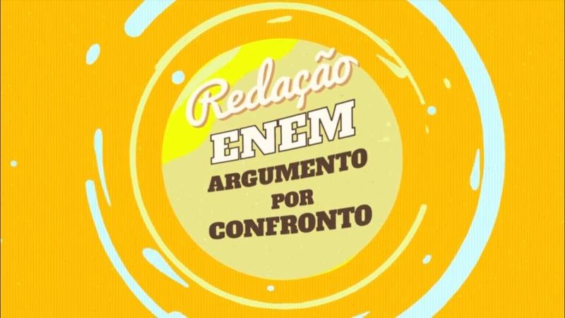 Redação no Enem Argumento por Confronto - Brasil Escola