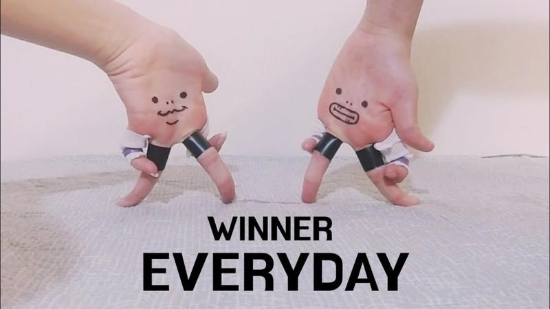 손가락춤)WINNER - EVERYDAY / Finger dance) WINNER - EVERYDAY