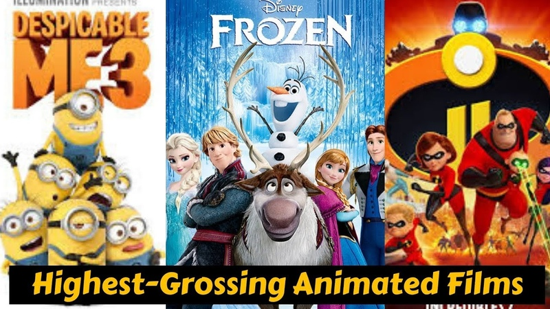 10 Highest Grossing Animated Movies of All Time With Box Office Collection