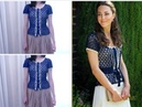 Kate Middleton Look Alike Crochet Top