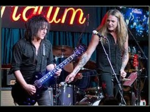 SEBASTIAN BACH STEVE STEVENS Perform AC/DC, AEROSMITH, QUEEN Covers at The Iridium, NYC 01/29/2012