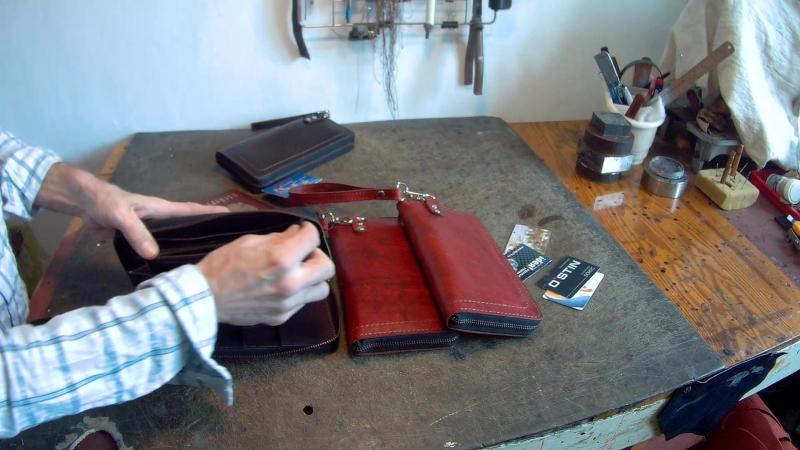 Клатч , кошелёк, портмоне кожаный теперь красный.
