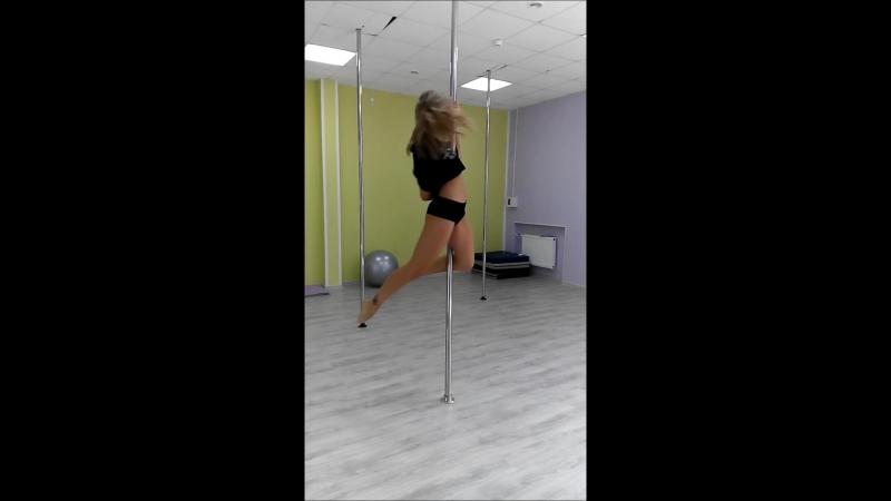 Карина Смелова.тренировка