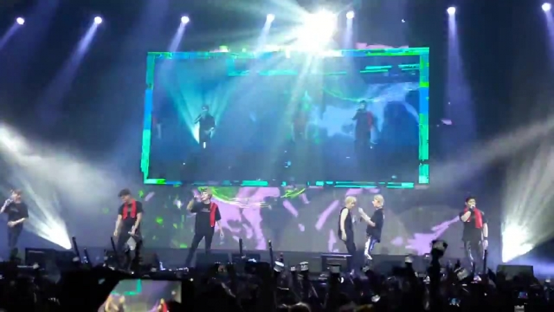 [VK][180620] MONSTA X fancam - Fallin @ The 2nd World Tour The Connect in Amsterdam